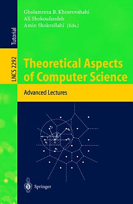 Theoretical Aspects of Computer Science PDF