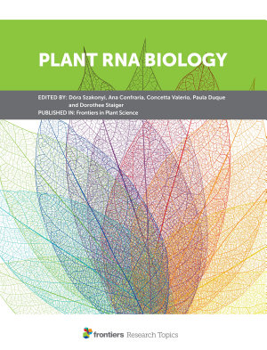 Plant RNA Biology