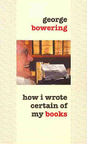 How I Wrote Certain of My Books