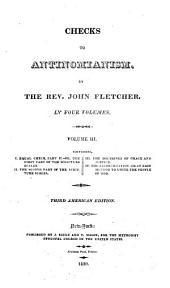 Checks to Antinomianism: Volume 3