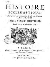 Histoire ecclésiastique: Depuis l'an 1536, jusqu'en 1545. T. 28