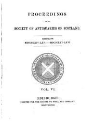 Proceedings of the Society of Antiquaries of Scotland PDF