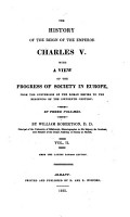 Robertson s Works  The history of the reign of the emperor Charles V PDF