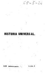Historia universal: (490 p.)