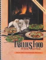 Fabulous Food for Family and Friends PDF