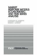 Market Response Models