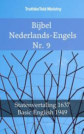 Bijbel Nederlands-Engels Nr. 9: Statenvertaling 1637 - Basic English 1949