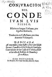 Conjuracion del Conde Iuan Luis Fiesco