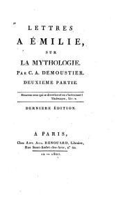 Lettres à Émilie, sur la mythologie: Volume2