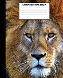 Lion Composition Book