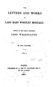 The Letters and Works: Volume 1