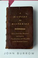 A History of Histories PDF