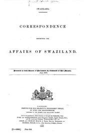 Correspondence Respecting Swaziland