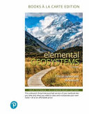 Elemental Geosystems Books A La Carte Edition Book PDF