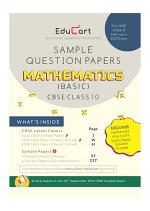 CBSE Maths Basic Sample Question Papers For Class 10 (For March 2020 Exam)
