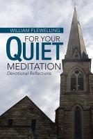 For Your Quiet Meditation PDF