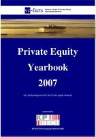 Private Equity Yearbook 2007 PDF