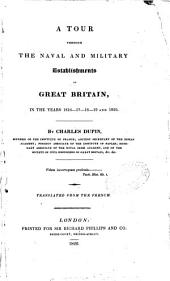 A tour through the naval and military establishments of Great Britain in the years 1816-1820