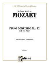 Piano Concerto No. 22 in E-Flat, K. 482: Piano Duo (2 Pianos, 4 Hands)