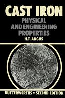 Cast Iron  Physical and Engineering Properties PDF