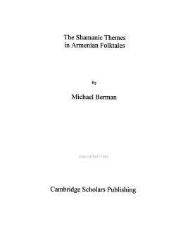 The Shamanic Themes in Armenian Folktales PDF