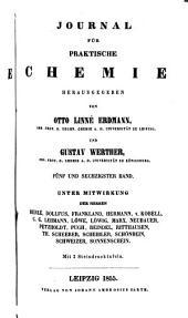 Journal für praktische Chemie: Bände 65-66
