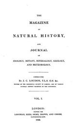 Magazine of Natural History: Volume 1