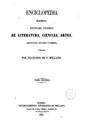 Enciclopedia moderna, 9: diccionario universal de literatura, ciencias, artes, agricultura, industria y comercio