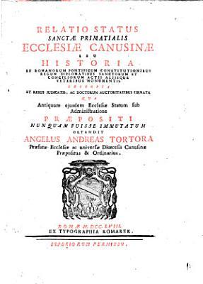 Relatio status sanctae primatialis Ecclesiae Canusinae PDF