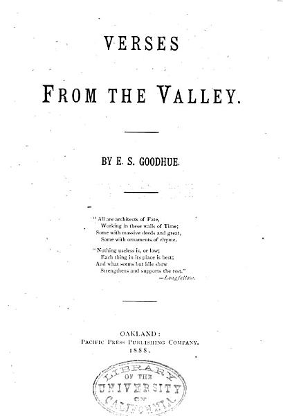 Download Verses from the Valley Book