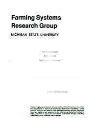 Farming Systems Research Position Paper PDF