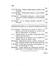 Nova acta Academiae scientiarum imperialis petropolitanae: Praecedit historia..., Volume15