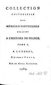 Mémoires de Messire Philippe Hurault, Comte de Cheverny, Chancelier de France, et Chevalier et Commandeur des Ordres du Roi [...].