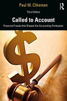 Called to Account PDF