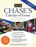 Chase s Calendar of Events 2018 PDF