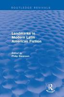 Landmarks in Modern Latin American Fiction  Routledge Revivals  PDF