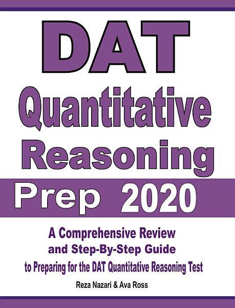 DAT Quantitative Reasoning Prep 2020 PDF
