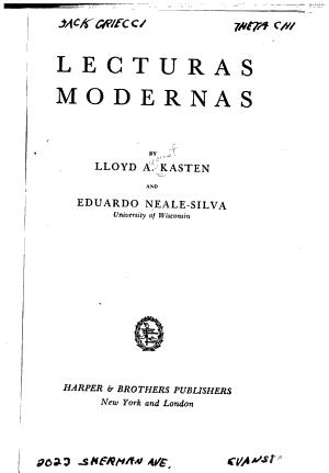 Lecturas Modernas