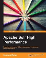 Apache Solr High Performance PDF