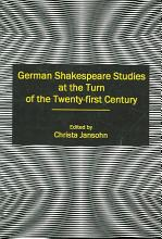 German Shakespeare Studies at the Turn of the Twenty first Century PDF