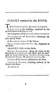 The Dunciad, variorum. With the prolegomena of Scriblerus