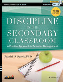 Discipline in the Secondary Classroom  with DVD PDF