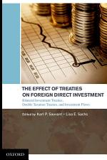 The Effect of Treaties on Foreign Direct Investment