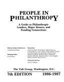 People in Philanthropy