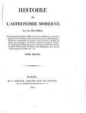 Histoire de l'astronomie moderne: Volume2