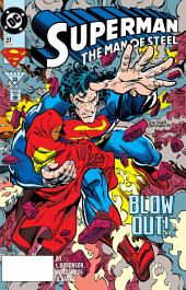 Superman: The Man of Steel (1991-) #27