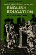 four hundred years of english education