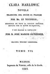 Clara Harlowe: novela, Volumen 7