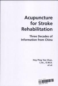 Acupuncture for Stroke Rehabilitation PDF