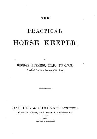 The Practical Horse Keeper PDF